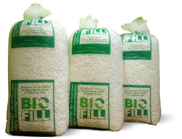 cacahuate biodegradable